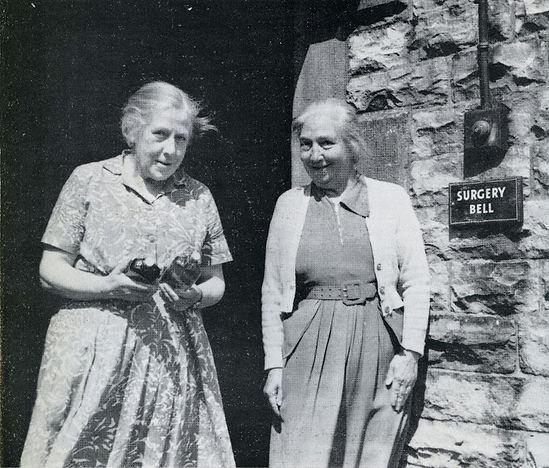 Madge & Jessie Blades, Aysgarth