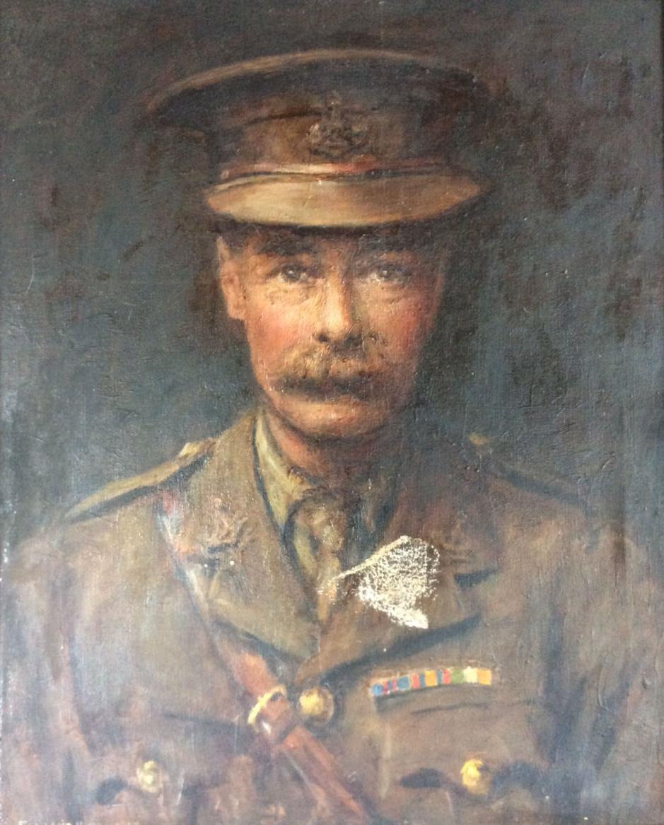 Portrait of Lt. Colonel Jack Lodge of the Yorkshire Regiment