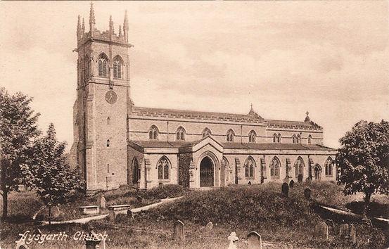 Aysgarth Parish Church, c.1912.