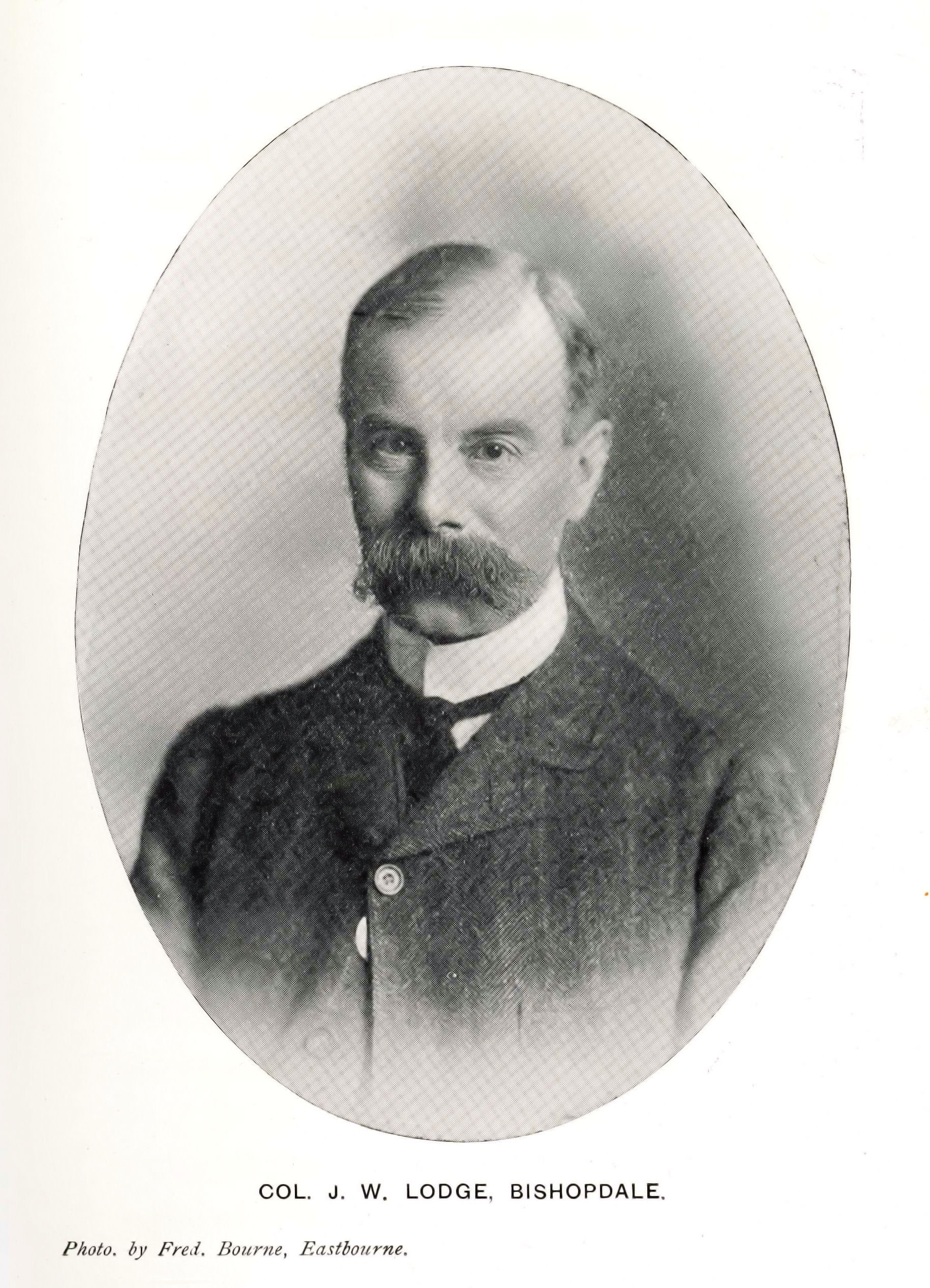 Col. J.W. Lodge, courtesy of The Wensleydale Hounds, 1907 DCM, Hawes