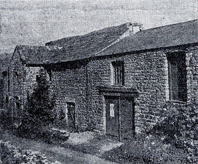 Thoralby village hall: The property in 1951, when it was used for storing timber