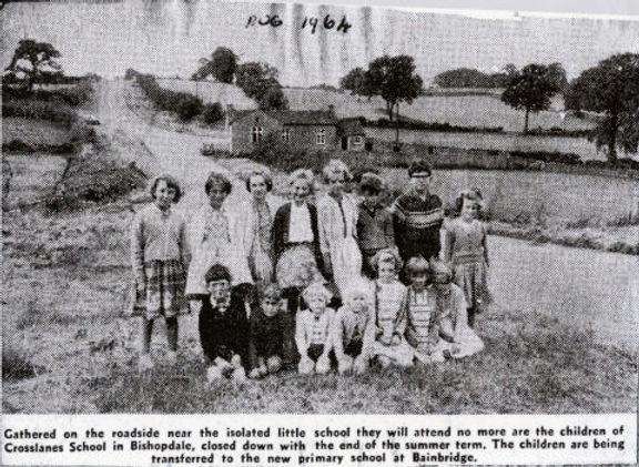 Final 15 pupils Cross Lanes School, 1964