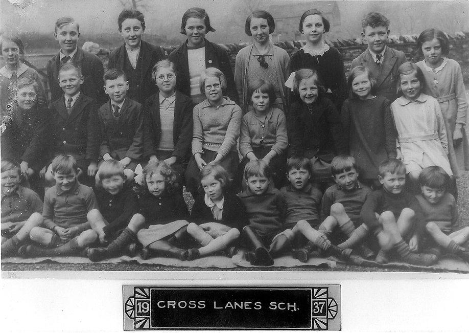 Cross Lanes pupils, 1937