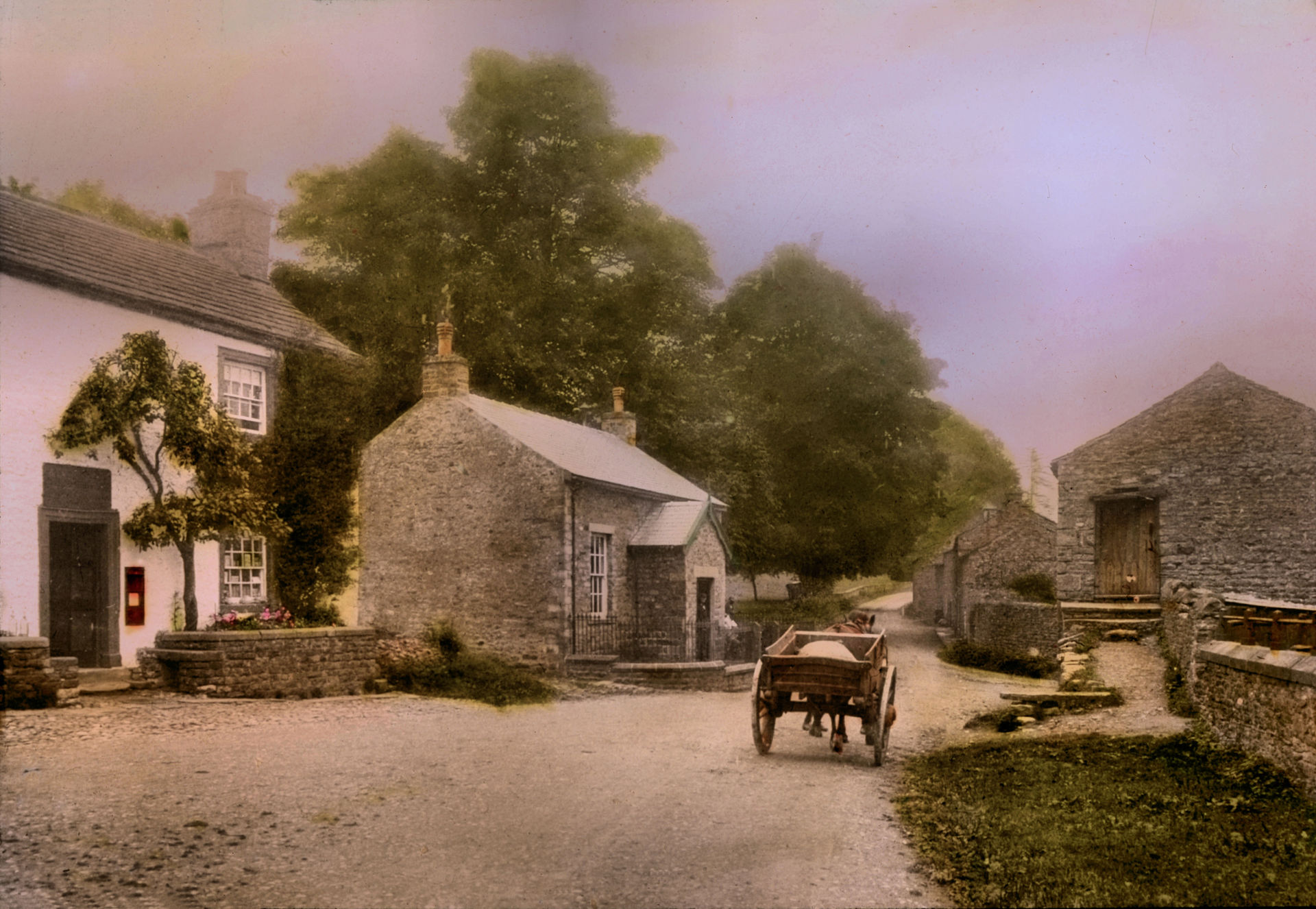 Thoralby, Shop, Post Office and Reading Room, c.1924
