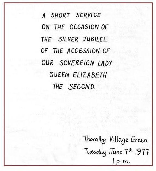 Jubilee Service