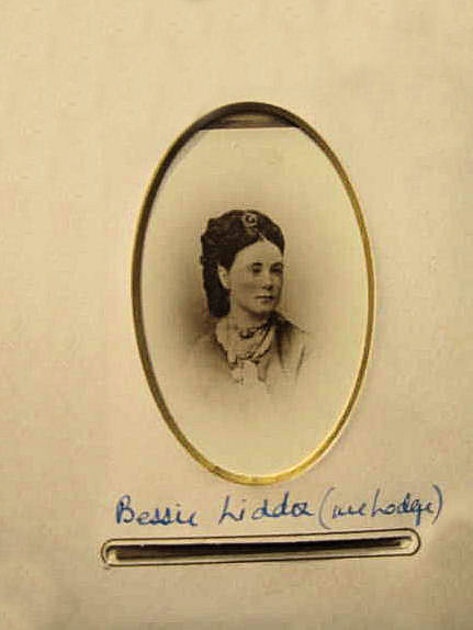 Elizabeth (Bessie) Liddon-Lodge, courtesy of her great grandson, John Sprigge