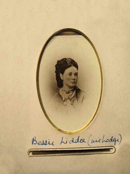 Elizabeth (Bessie) Liddon-Lodge, courtesy of her great grandson, John Sprigge