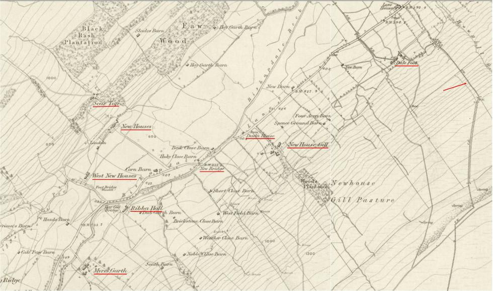 Dale Foot - Myres Garth OS 1856
