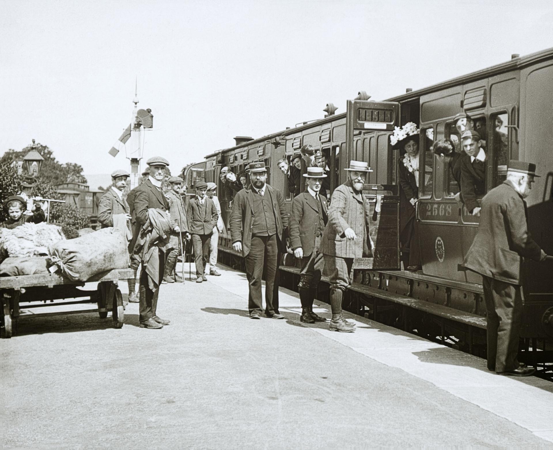 Aysgarth Station, c.1903-06, courtesy of Stephen Musgrave.