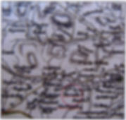 Careys Map, 1787: Thoralby and Newbiggin