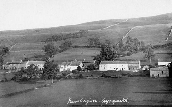 Newbiggin village, Bishopdale