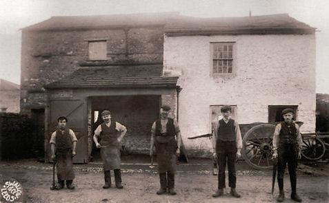 Blacksmith's Forge, 1912-14 PC GVS