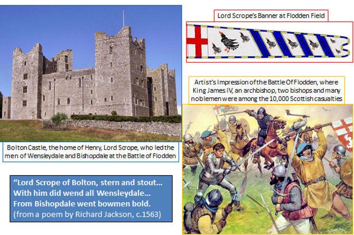 The Battle of Flodden Field, 1513 - Newbiggin, Bishopdale