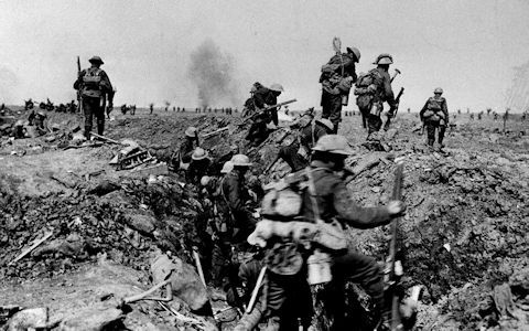 Trench warfare - The Somme - The Telegra