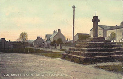 The Market Cross, Carperby village