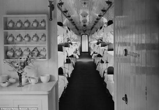 Ambualnce train - cup of tea R