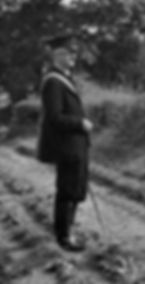 Alfred Lambert (1901-1985), Thoralby postman 1950s. Courtesy of David Joy.