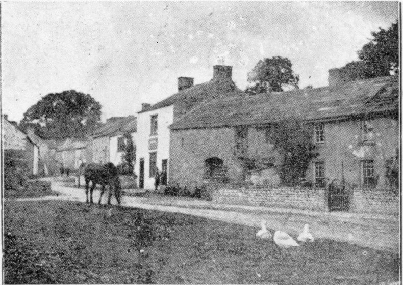 Thoralby village green, 1894
