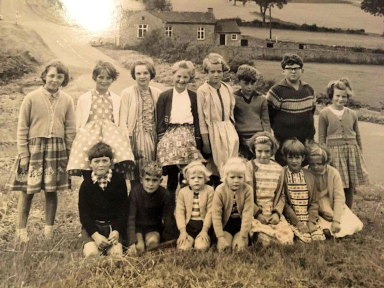 Cross Lanes School last day, 1964