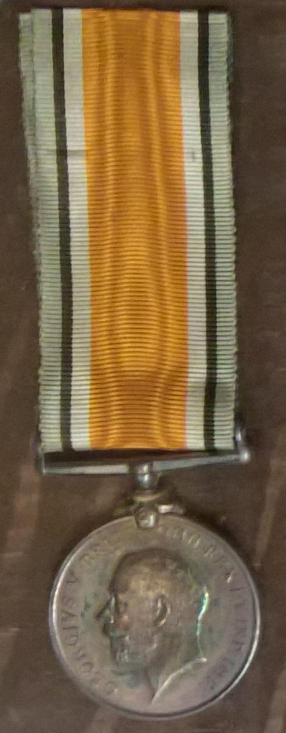 Harold Binks' British War Medal