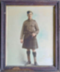 Cecil Riggs - WW1 Soldier - Jean Cockbur