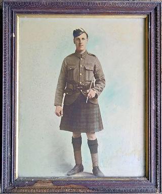 Cecil Riggs - WW1 Soldier - Jean Cockbur