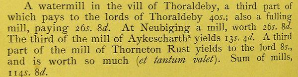 Robert de Tateshale, 1298