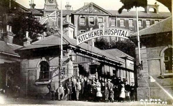 Kitcheners Hospital WW1