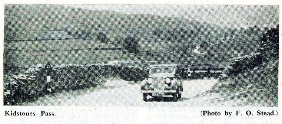 Kidstones Pass, 1957