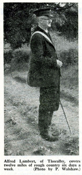 Alfred Lanbert, Thoralby postman 1957