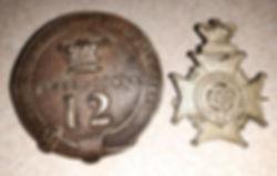V.A. Sadler Rifle Volunteer Badges - GVS
