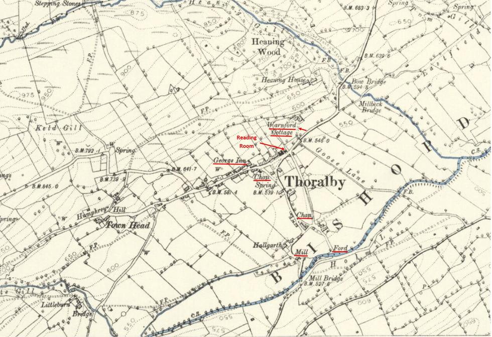 Thoralby Village 1891
