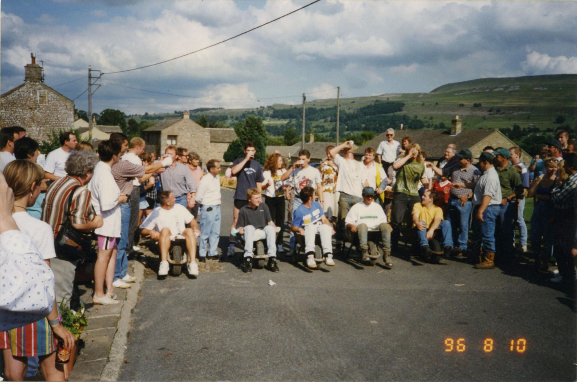 Wheelbarrow Race Aug 1996