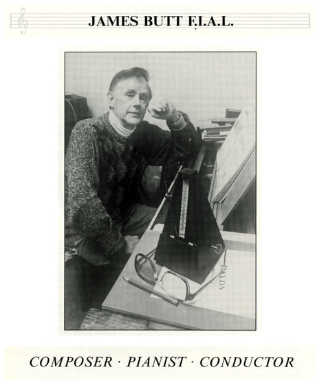 James Butt, (1929-2003). Courtesy of DCM, Hawes