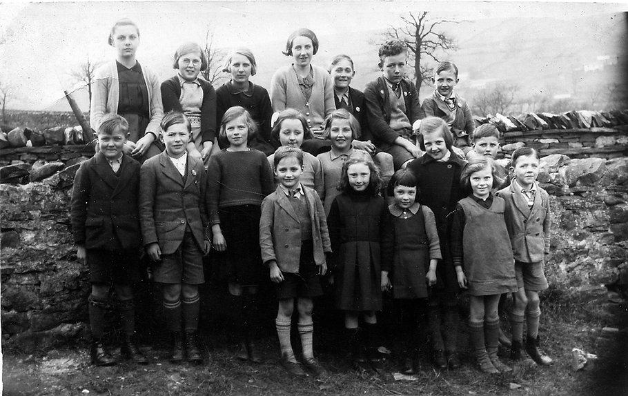 Cross Lanes pupils, 1939