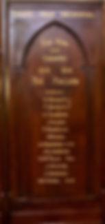 Snape Chapel WW1
