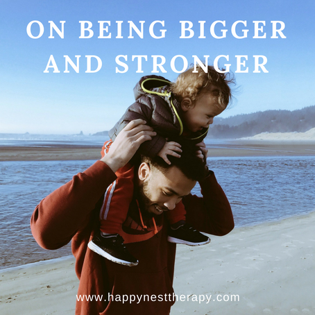 On Being Bigger and Stronger