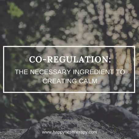 Co-Regulation: Creating Calm