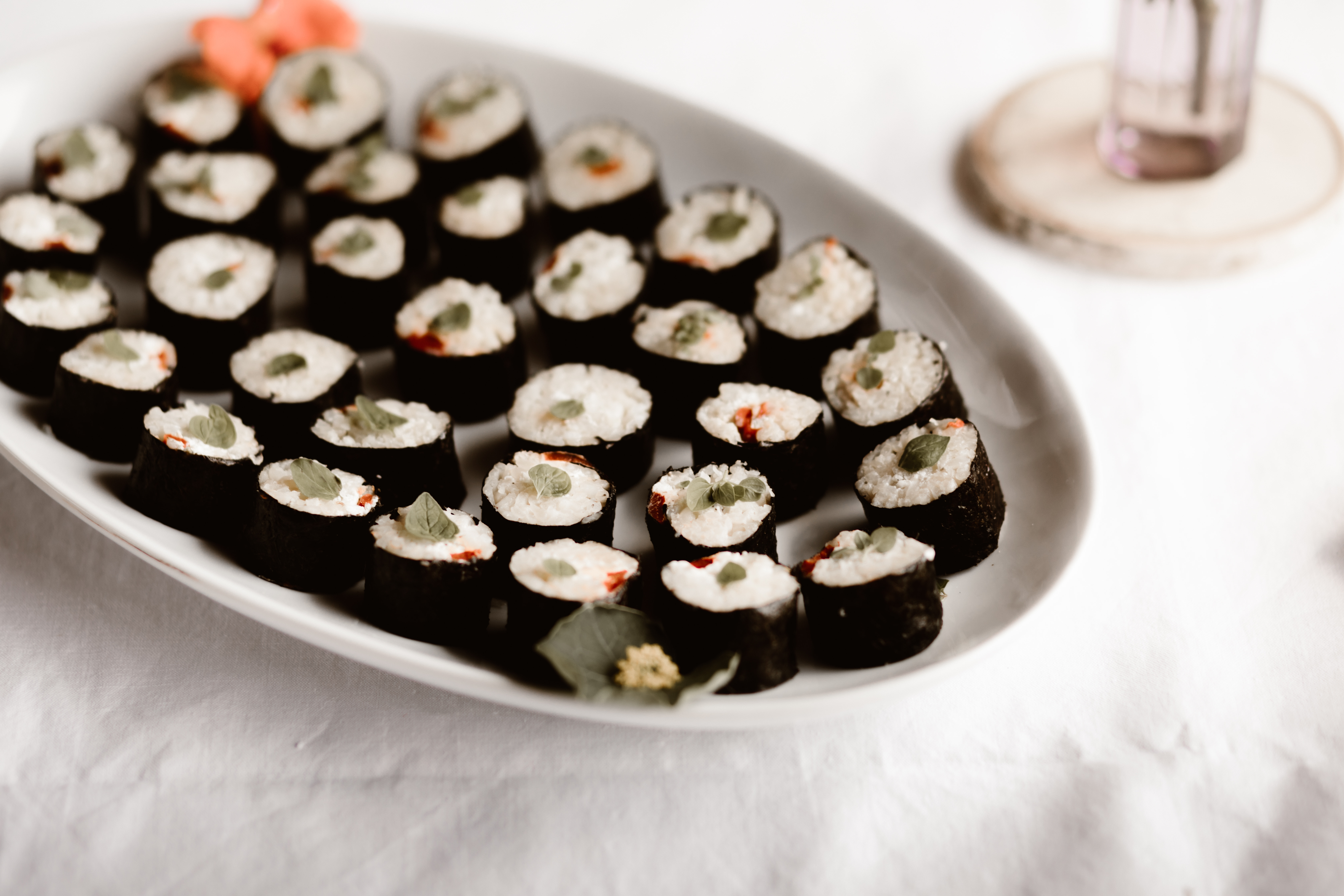 makis poivron mariné fromage