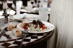 assiette de pad thaï