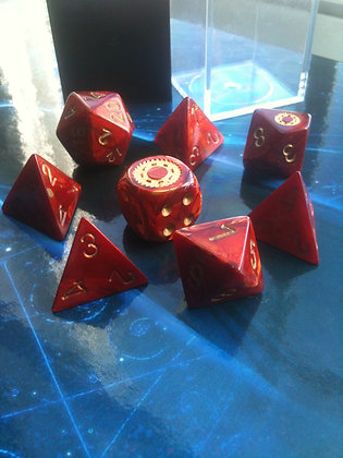 Red Collectors Edition Dice