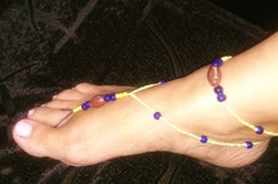 11.)Team Colors! w/attached anklet