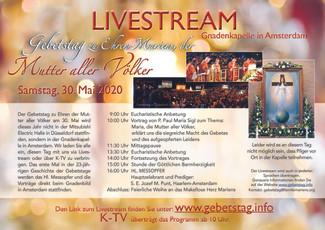 Gebetstag Online-Event
