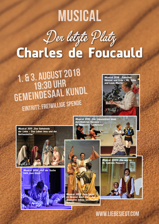 """Der letzte Platz - Charles de Foucauld"""