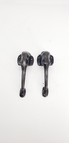 Handmade Elephant Design Brass Door Handle/Knob, Good Luck Door Knob, Door Pull,