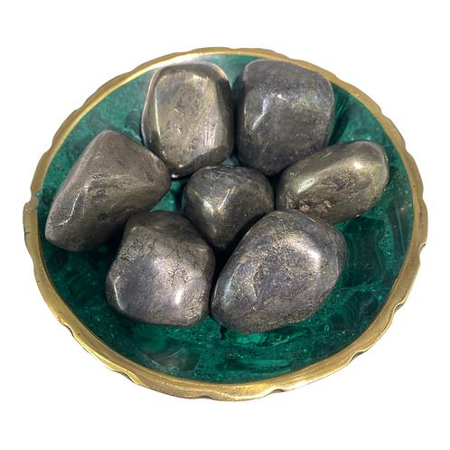 Polished Pyrite Crystals, Iron Pyrite, Crystal for Creativity, Optimisim
