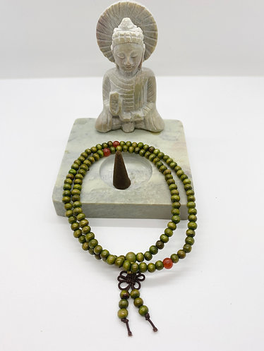 6 mm Natural Olive wood Prayer Beads