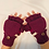 Thumbnail: Merino Wool Gloves/Solid Color Gloves/Mittens
