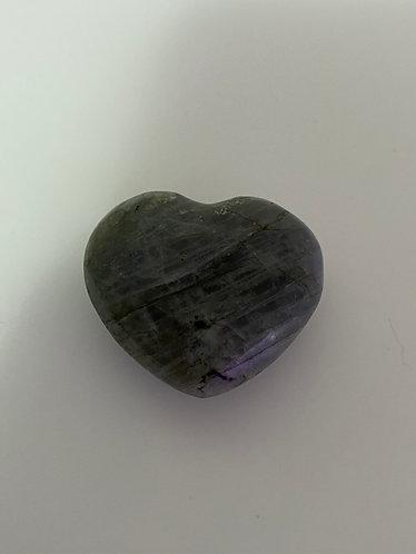 Labradorite Crystal Heart
