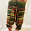 Thumbnail: Handmade Multiprint Wool Harem Pants